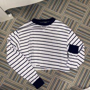 Longe sleeve striped brandy Melville top